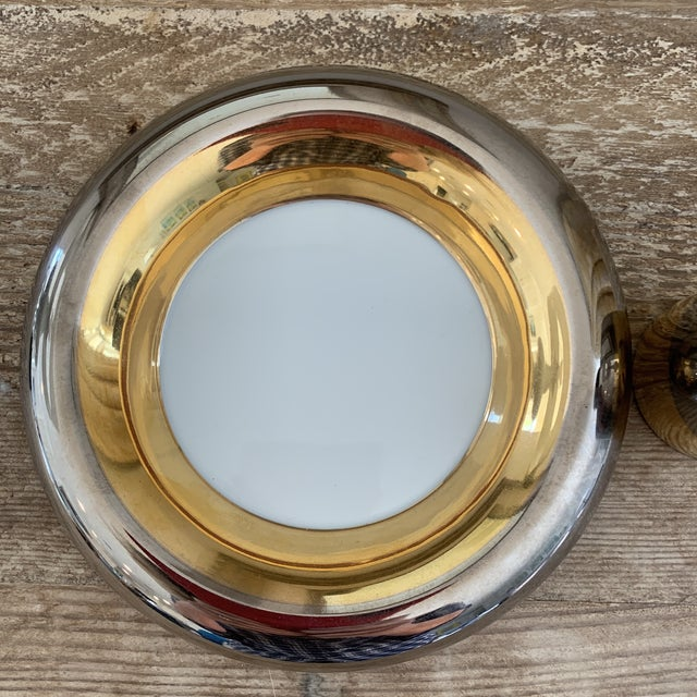 Mid 20th Century Mid Century Metallic Porcelain Fitz & Floyd Lighter and Ashtray For Sale - Image 5 of 8