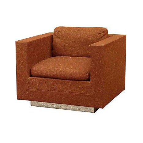 Stow & Davis Cube Club Chairs - A Pair - Image 2 of 8