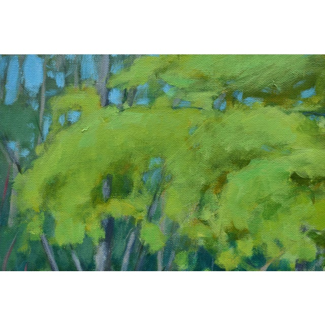 "Paint Stephen Remick ""S-Curve by the Beech Tree"" Landscape Painting For Sale - Image 7 of 11"