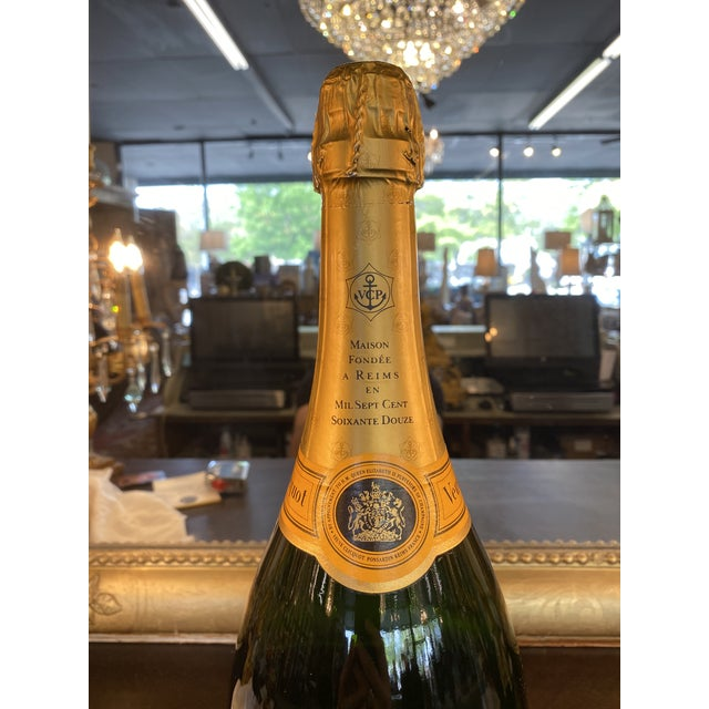 French Late 20th Century French Veuve Cliquot Specimen Bottle For Sale - Image 3 of 5