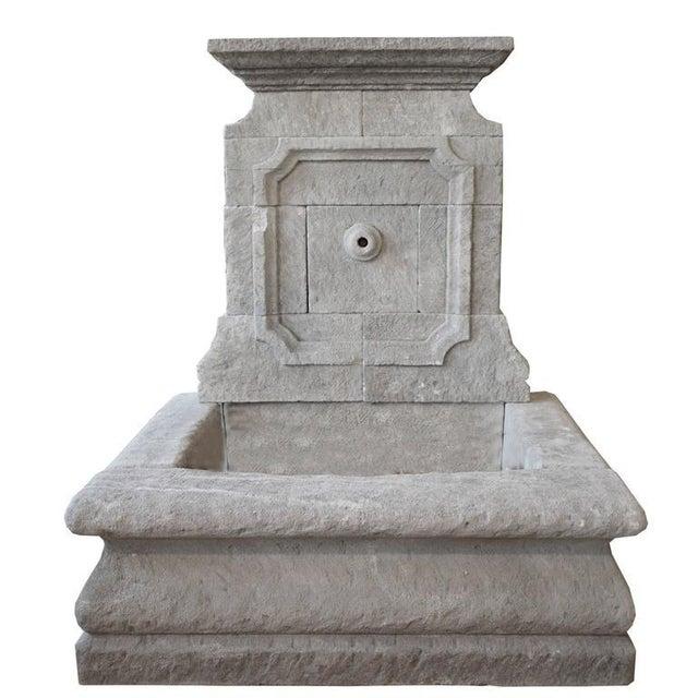Limestone Wall Fountain - Image 2 of 6