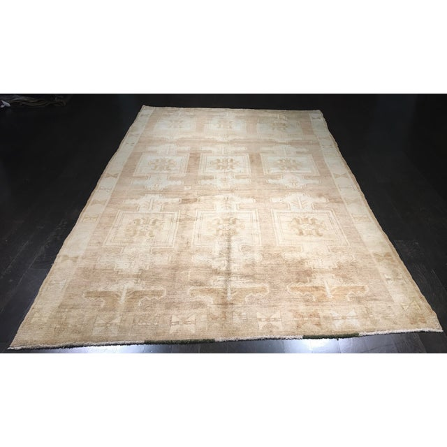 "Bellwether Rugs Vintage Turkish Oushak Rug - 6'6""x10'4"" - Image 2 of 7"
