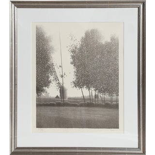 Robert Kipniss, Tual Framed Mezzotint For Sale