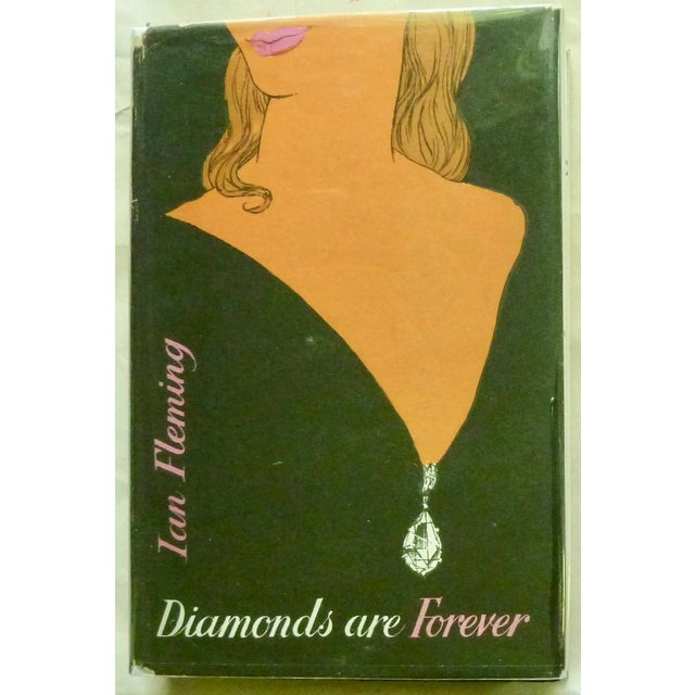 """1956 """"Diamonds Are Forever"""" UK 1st Printing Book For Sale In New York - Image 6 of 6"""