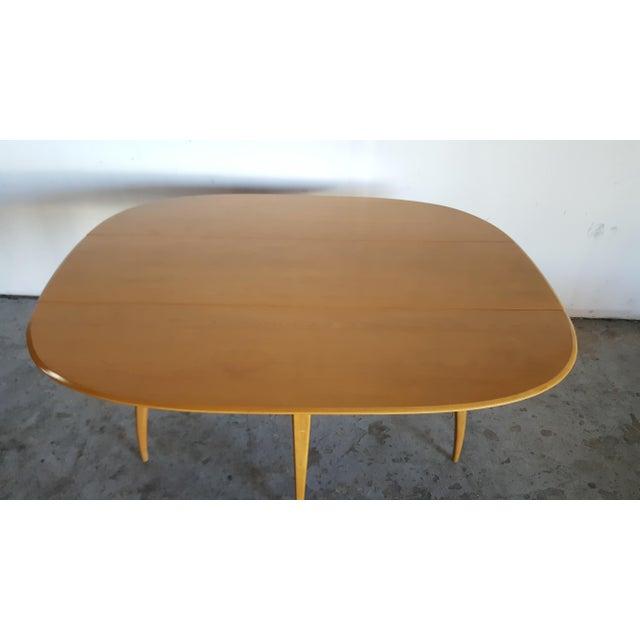 Mid-Century Heywood Wakefield Dining Table - Image 6 of 11
