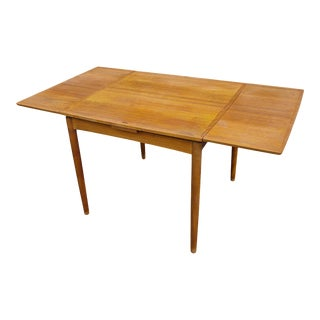 Flip Top Refectory Card/Game Table by Poul Hundevad For Sale