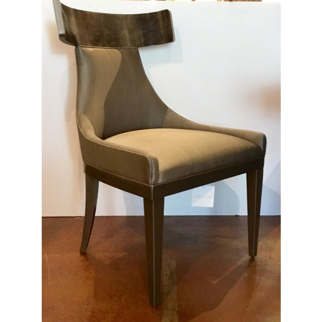 Modern Caracole Modern Sitting in Style Dining Chairs Set of Four For Sale - Image 3 of 8
