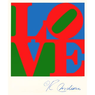 Love Poster by Robert Indiana For Sale