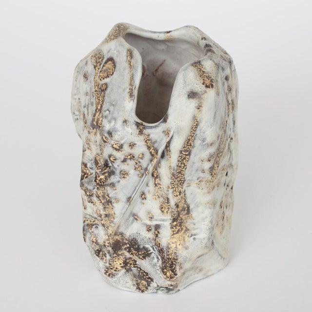 Marcello Fantoni Brutalist Ceramic Vase - Image 6 of 10