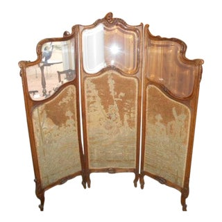 Petite French Dressing Screen For Sale