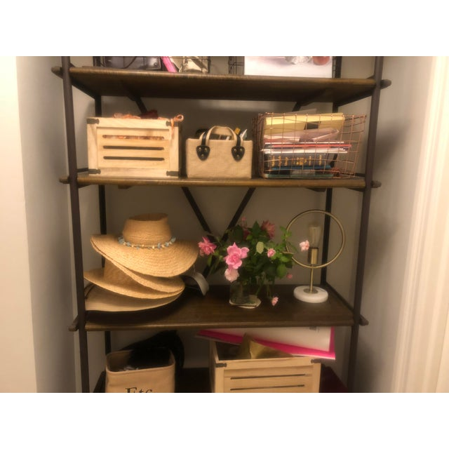 """French Ballard Designs """"Toulouse Tall Bookcase"""" For Sale - Image 3 of 4"""