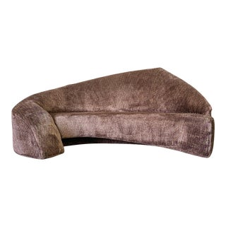 Vladimir Kagan Style Biomorphic Post Modern Sofa For Sale