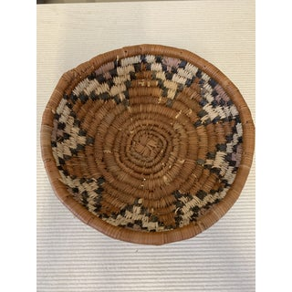 20th Century Tribal Woven Hopi Basket Preview