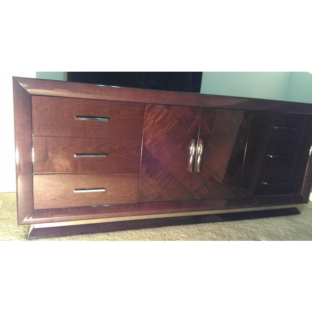 Excelsior Designs Italian High Gloss Dresser For Sale In Phoenix - Image 6 of 7