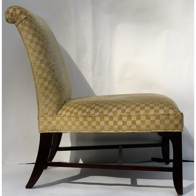 Vintage Slipper Chair & Ottoman by Barbara Barry - Image 5 of 7