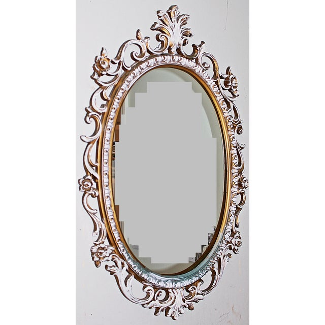 Oval Rococo Mirror - Image 3 of 5