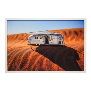 Framed Photograph of Model Airstream by Luke Anthony 2017 For Sale