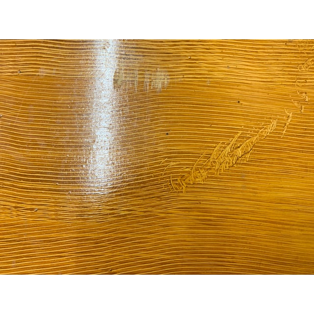 1920s Art Deco Pine Trunk For Sale - Image 11 of 13