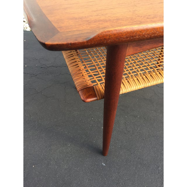 Poul Jensen for Selig Mid-Century Danish End Table For Sale In New York - Image 6 of 11