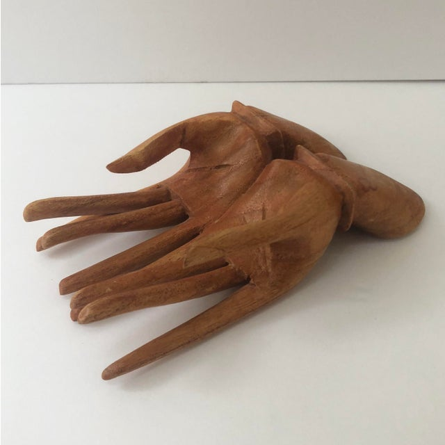 Wooden Hand Card Holder For Sale In Tampa - Image 6 of 8