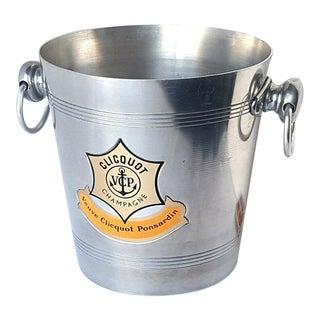 1970s Veuve Clicquot Ponsardin Vintage Champagne Bucket For Sale