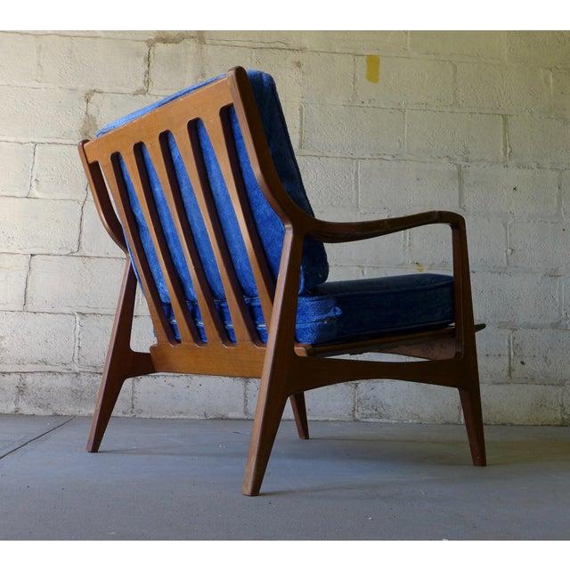 Norwegian Mid Century Modern Lounge Chair - Image 3 of 6