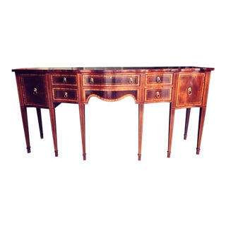 Hickory Chair Co Huge Mahogany Sideboard