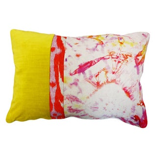 Kim Salmela Modern Rectangular Colorblock Pillow For Sale