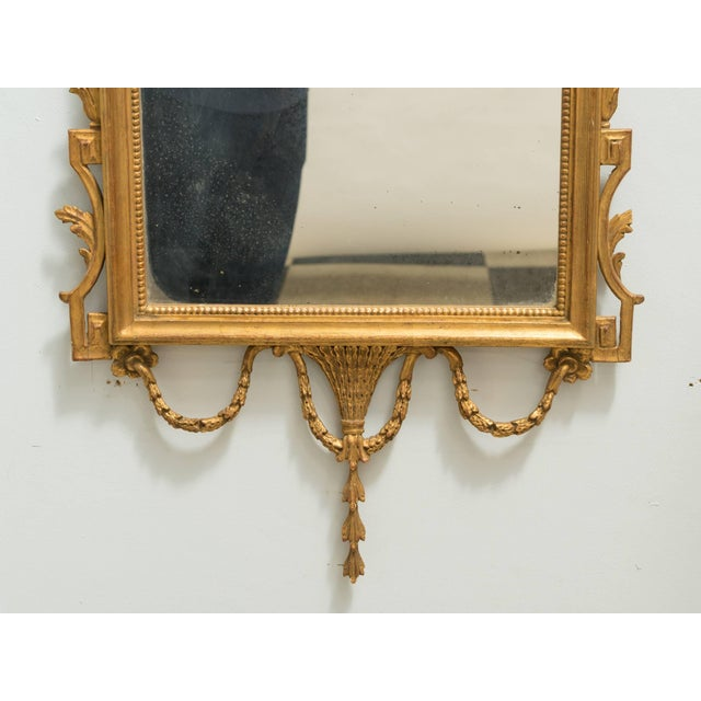 Italian Giltwood Mirror For Sale In New York - Image 6 of 8