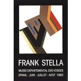 Image of Frank Stella-Musee Departemental Des Vosges-1983 Poster For Sale