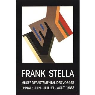 Frank Stella-Musee Departemental Des Vosges-1983 Poster For Sale