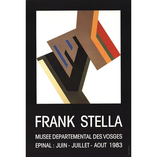 Frank Stella-Musee Departemental Des Vosges-1983 Poster For Sale