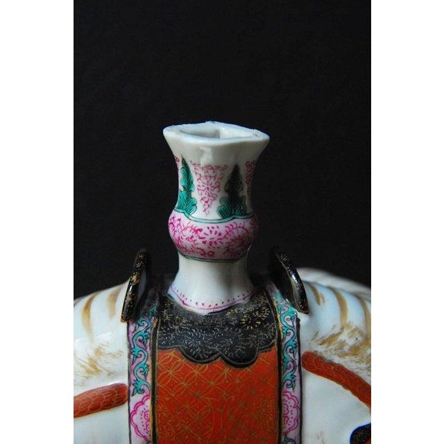 Mottahedeh Porcelain Elephant Candleholders - Set of 4 For Sale - Image 5 of 11