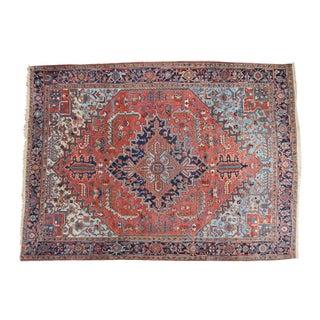 """Vintage Heriz Carpet- 8'4"""" X 11'3"""""""