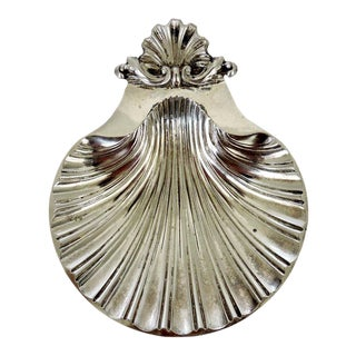 Silver Scolloped Shell Dish/Catchall