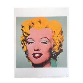"Andy Warhol Estate Rare 1989 Collector's Lithograph Print "" Marilyn "" 1964"