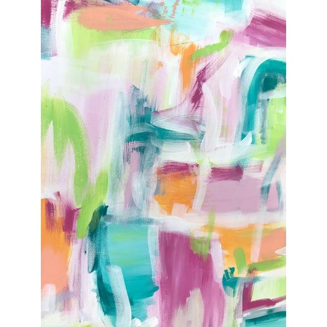 "Christina Longoria ""Melbourne"" Original Painting For Sale - Image 4 of 5"