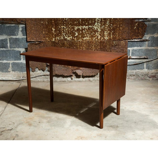 Skodborg Møbelfabrik Drop-Leaf Danish Desk - Image 2 of 11