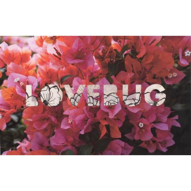 Lovebug (Mehretu) by Emily Hoerdemann, One Word Poems Collage Series For Sale
