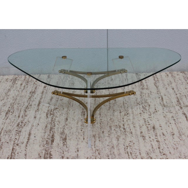Charles Hollis Jones 1960s Vintage Charles Hollis Jones Coffee Table For Sale - Image 4 of 10