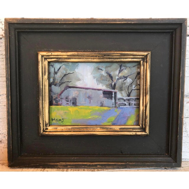 """Paint """"Amador County Barn"""" Oil Painting For Sale - Image 7 of 7"""