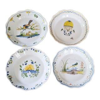 Vintage Pierre Deux French Provencal Faience Bowls - Set of 4 For Sale