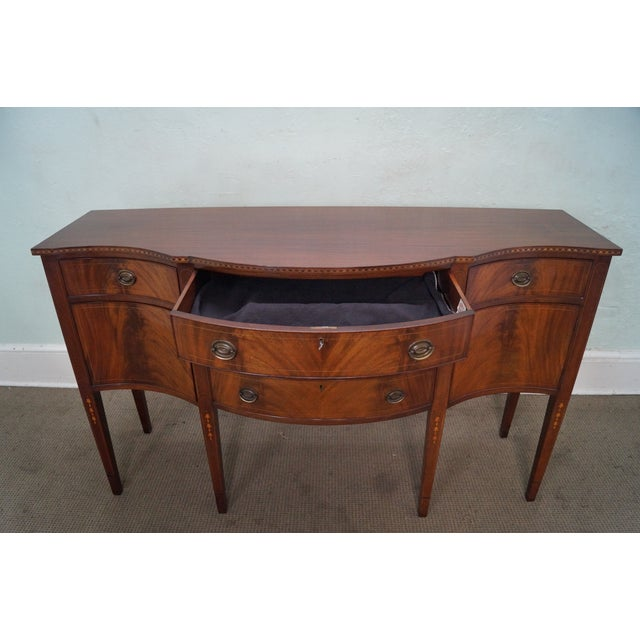 Marlboro Manor for Sacks 1920s Mahogany Sideboard For Sale - Image 10 of 10