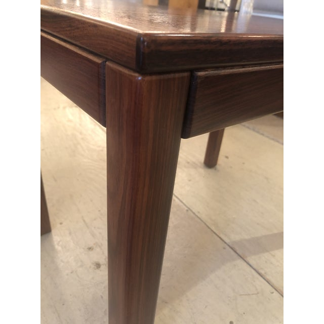 Brown Mobelfabrick Danish Mid Century Modern Richly Grained End Tables - a Pair For Sale - Image 8 of 13