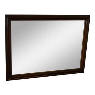 Statton Solid Cherry Rectangular Wall Mirror