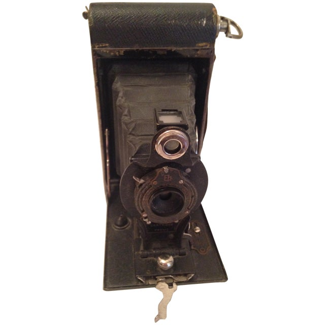 Antique Kodak No 2 Folding Pocket Camera - Image 1 of 5
