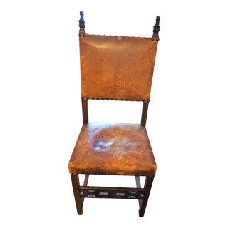 Set of Eight Spanish Chairs
