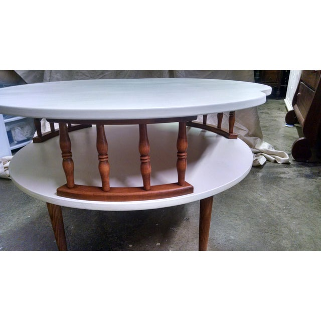 Ethan Allen Tuscan Coffee Table: Mid Century Modern Ethan Allen Coffee Table