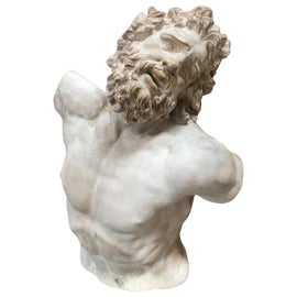 Image of Antique White Sculpture