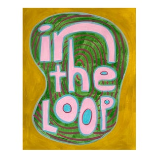 Contemporary Painting, in the Loop For Sale